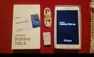 """TABLET SAMSUNG GALAXY TAB A 6 (7"""" & 8gb) WHITE COLOR (latest models) very fast !!! for Sale in Houston, TX"""