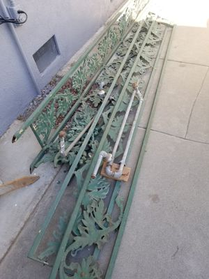 Free metal rails and Iron pipe for Sale in Riverside, CA