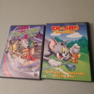 Two Tom And Jerry DVDs 26 Episodes In Total Will Not Separate for Sale in Puyallup, WA