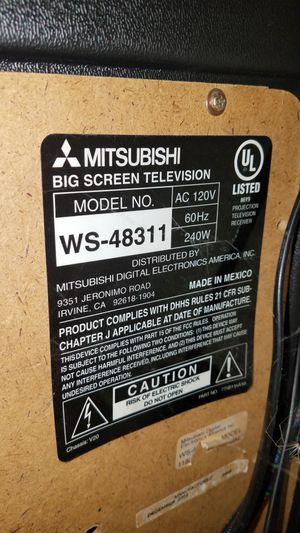 Mitsubishi TV HD 1080 make offer for Sale in Stanwood, WA
