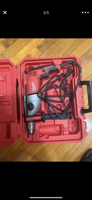 """Milwaukee Hammer Drill 1/2"""" for Sale in Des Plaines, IL"""