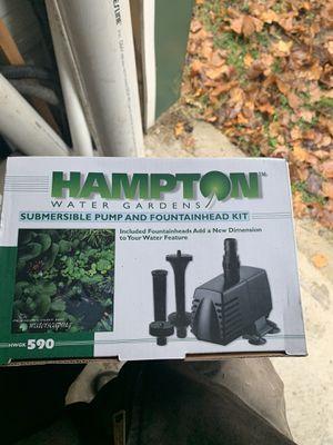 Hampton 590 pond pump for Sale in Morgantown, WV