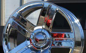 "Brand New 22"" Rep25 6x139.7 Chrome Wheels for Sale in Hialeah, FL"