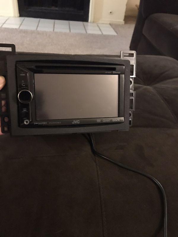JVC car stereo - double din