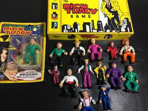 Vintage Dick Tracy Collection Action Figures toys for Sale in Chandler, AZ