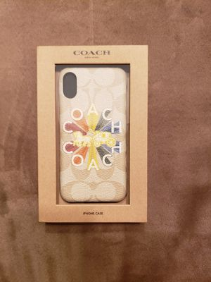 Coach iPhone X Authentic Phone Case for Sale in North Miami, FL