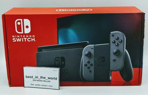 Nintendo Switch 32gb V2 Grey Gray Joy Con Gaming Console for Sale in Dallas, TX