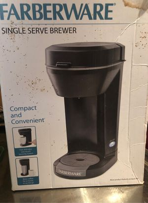 farberware single serve brewer for Sale in Irving, TX