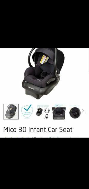 Maxi-Cozi Mico 30 Infant Car Seat. Manufactured 08/31/2017. for Sale in Edgewood, WA