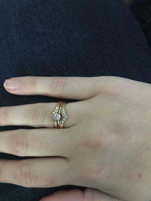 Wedding ring set for Sale in Highland City, FL
