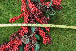 Home crafted Christmas Berry Wreaths for Sale in Glenwood, OR