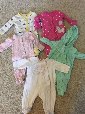 Gymboree Carters PJs and Onesies for Sale in Waterford Township, MI