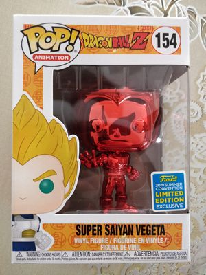 Dragon Ball Z Red Vegeta SDCC SHARED for Sale in Santa Ana, CA