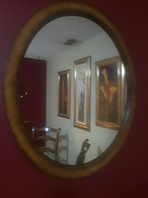 Oval shaped wall mirror for Sale in Aloma, FL