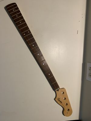 Fender Squier P Bass neck for Sale for sale  Katy, TX