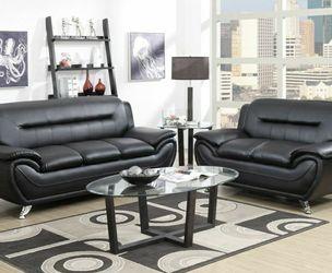 🔥🔥Enna Black Sofa & Loveseat | U2701 by Global for Sale in Philadelphia,  PA