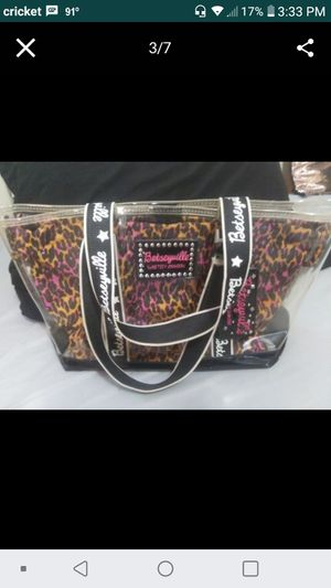 Betsey Johnson tote bag new without tags for Sale in Houston, TX