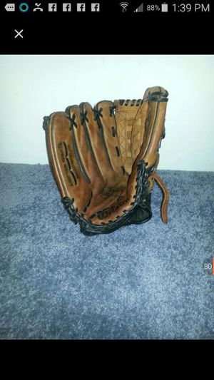 Leather baseball glove for Sale in Chesterfield, VA