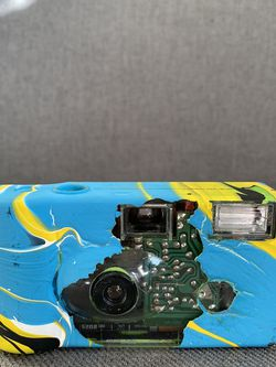 Custom Painted Disposable Camera for Sale in Arcadia,  CA