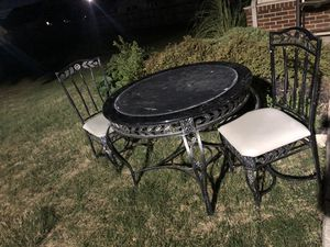 Outdoor table with 2 chairs for Sale in Hilliard, OH