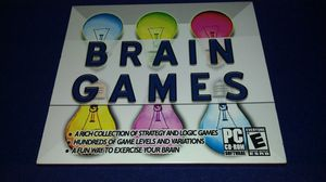 Brain games for the PC for Sale in Garland, TX