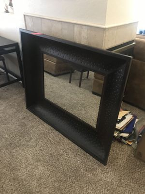 Large Iron Wall Mirror Decor (Heavy!) for Sale in Scottsdale, AZ
