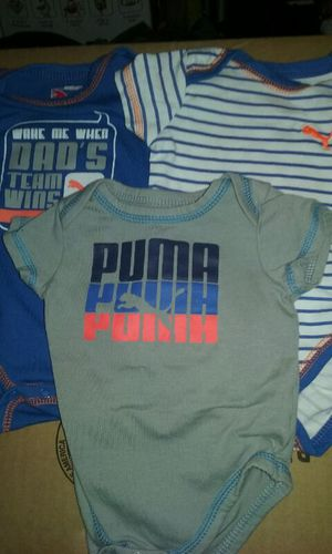 Puma 3-6 Months Onsies . Set of 3 for Sale in Cleveland, OH
