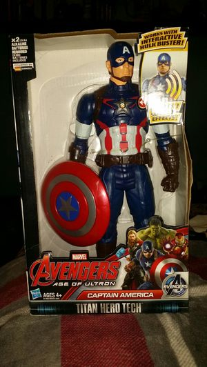 Captain America figure for Sale in Portland, OR
