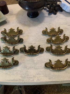 9 antique Brass drawer pulls for Sale in Franklin, TN