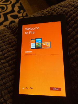 Kindle Fire 7 Excellent Condition for Sale in Bonney Lake, WA