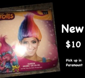 Trolls wig for Sale in Paramount, CA