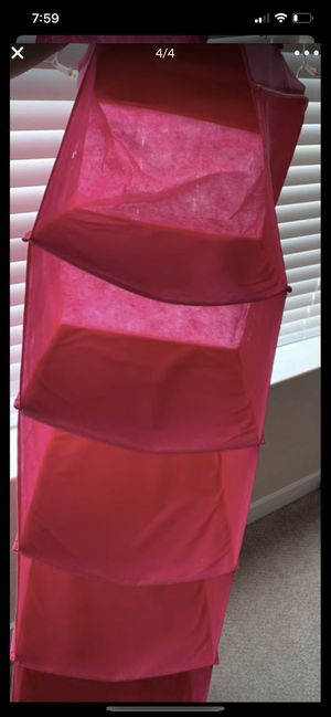 Closet organizer plus laundry pink bag 2 for $7 for Sale in San Jose, CA