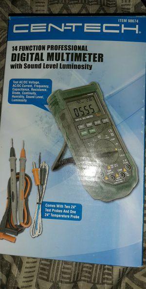 CENTECH 14 Function Professional Digital Multimeter for Sale in Lebanon, MO