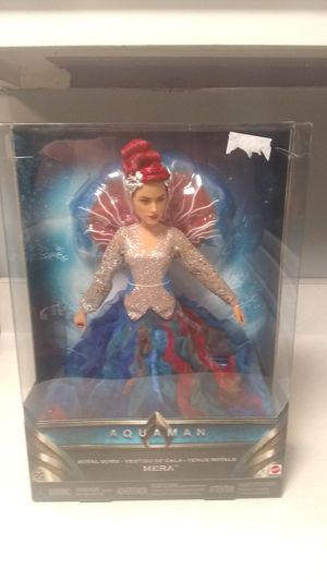 New Aquaman Mera Barbie Doll for Sale in Nashville, TN