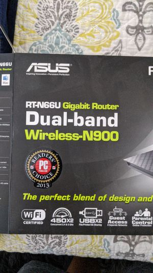 RT-N66U Asus Router for Sale in Folsom, CA