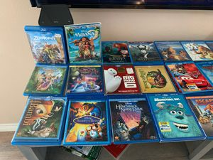 Disney/Pixar Blu-ray collection for Sale in Baytown, TX