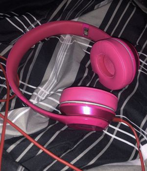 Beats Wire Headphones Pink (checkout listings for Black TV/5.1 Speakers) for Sale in Las Vegas, NV