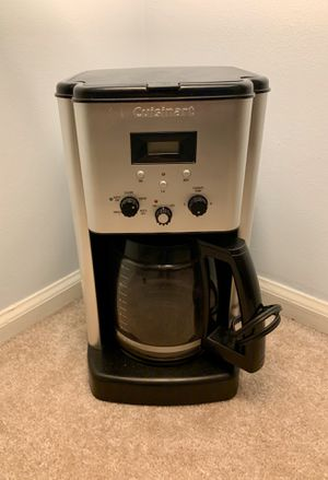 Cuisinart 12-Cup Stainless Steel Coffee Maker for Sale in Alexandria, VA