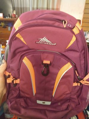 High Sierra Backpack for Sale in Tempe, AZ