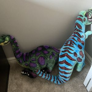 2 Melissa and Doug Dinosaur Plush Large for Sale in Clarence, NY