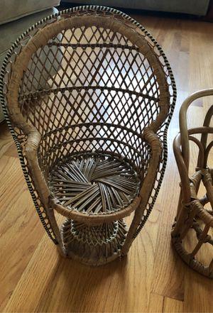Rattan chair for Sale in San Dimas, CA