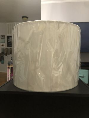 Drum Shade, Harp and Finial for Sale in Woodbridge, VA