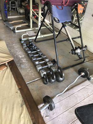 Workout Weight Equipment kettle bells / dumbbells for Sale in Chandler, AZ