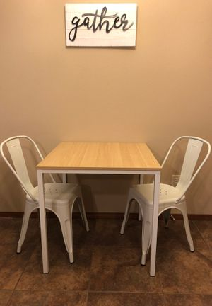 Table and 2 Chairs for Sale in Bloomington, IL