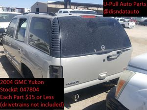 2004 Chevy/GMC Yukon @ U-Pull Auto Parts 047804 for Sale in Las Vegas, NV