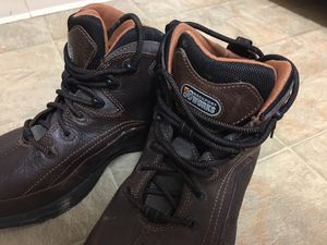 ROCKPORT WORKS STEEL TOE WORK BOOTS SIZE 12 for Sale in Rancho Cordova, CA