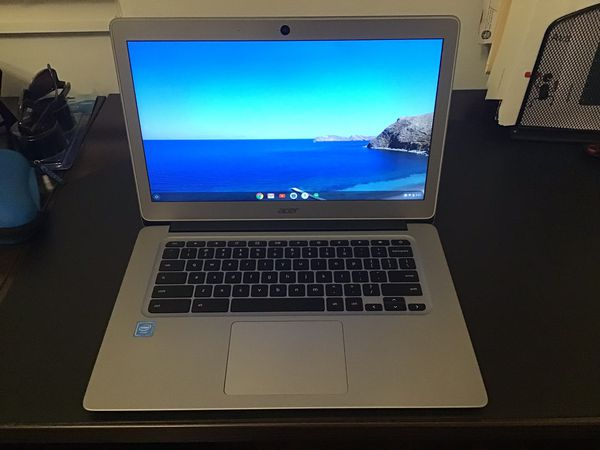 "Acer Chromebook 14"" Intel Celeron - 4GB Memory - 32GB eMMC Flash Memory - Silver"