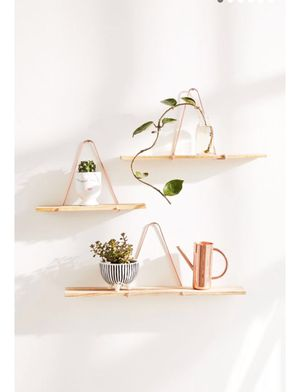 3 Urban Outfitter Triangle Bracket Wall Shelves for Sale in San Diego, CA