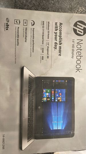 14 inch HP Notebook for Sale in Nashville, TN