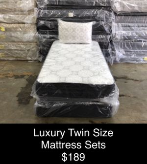 Luxury Twin Size Mattress Sets (New) Same Day Delivery & Financing Available for Sale in Atlanta, GA